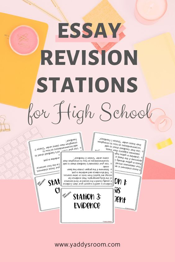 essay revision stations for high school