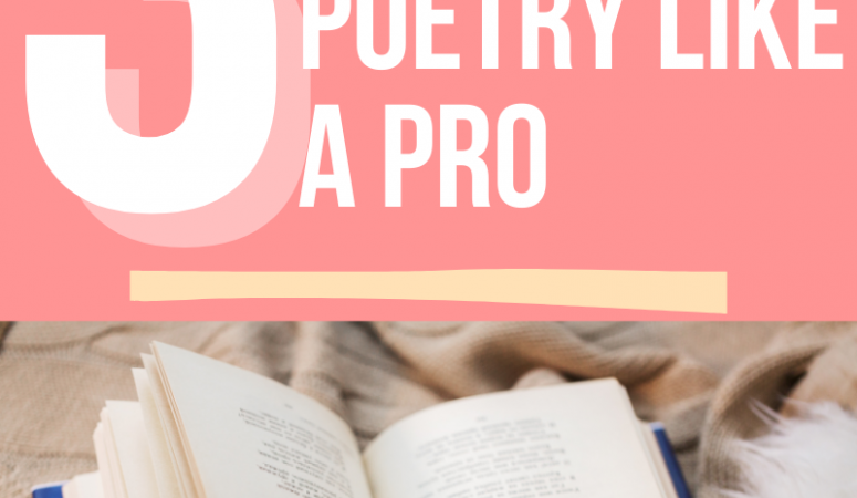 3 Tips to teach poetry like a pro