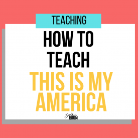 how to teach this is my america by kim johnson