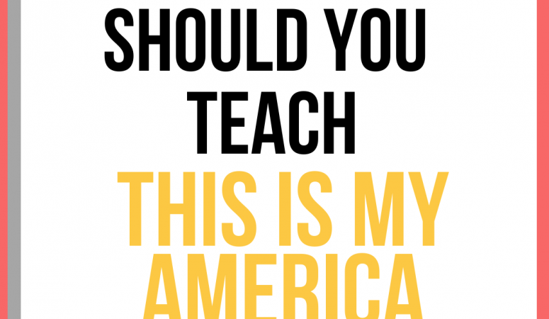 Should you teach This Is My America by Kim Johnson?